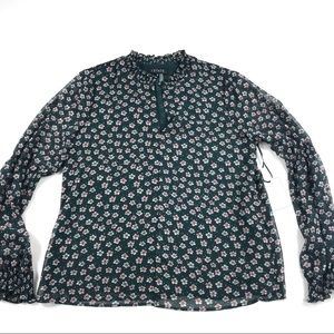 1. State Boy Meets Girl Floral Blouse Sz Small NEW